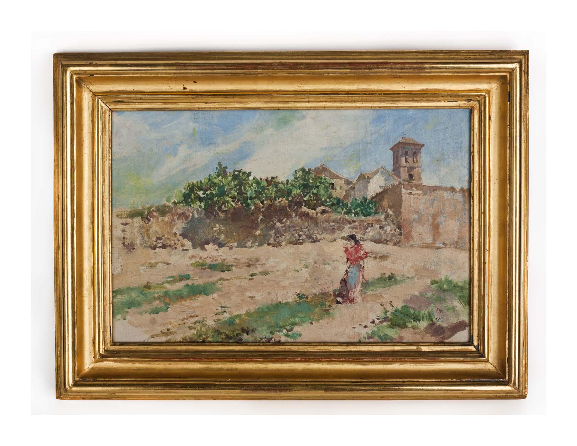 isidoro Marin pinturacostumbrista andauza granadina