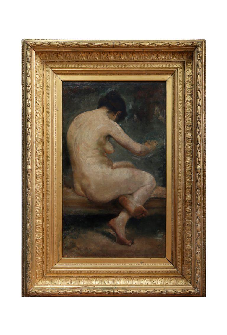 Female-Nude---Ignacio-Pinazo